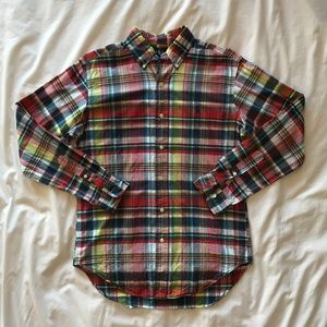 Ralph Lauren Polo - Men's Summer Plaid Button-up